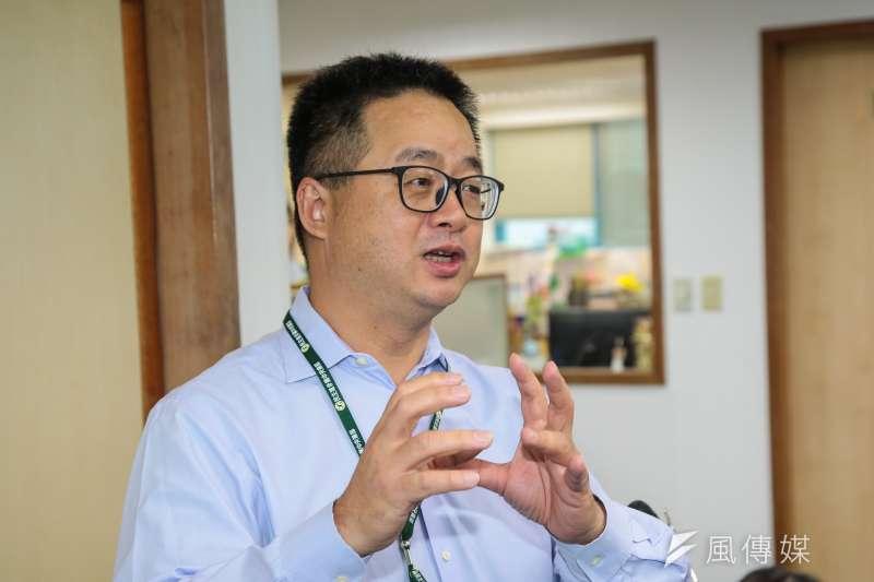 20190116-民進黨秘書長羅文嘉16日出席民進黨中常會。(顏麟宇攝)