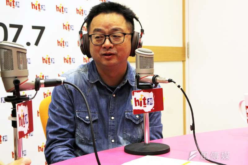 在廣告時段時,民進黨秘書長羅文嘉脫口說,他了解南線專案是陳水扁的幕僚曾天賜出的主意,直言「天兵啊」。(Hit Fm《周玉蔻嗆新聞》製作單位提供)