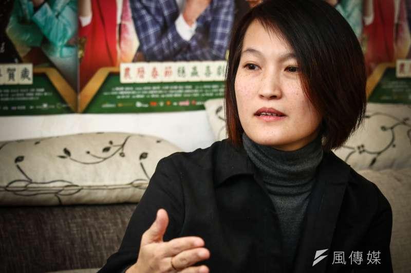 20190119-導演陳怡妤專訪。(蔡親傑攝)