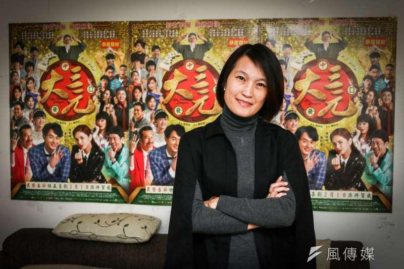 導演陳怡妤交出人生第一部長片《大三元》,拍一個以麻將起家的豪門望族,透過方城生死決,來解決家族鬥爭。(蔡親傑攝)