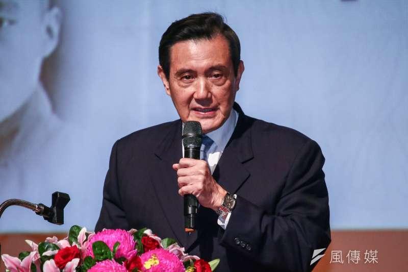 前總統馬英九也開始走政治網紅路線。(蔡親傑攝)