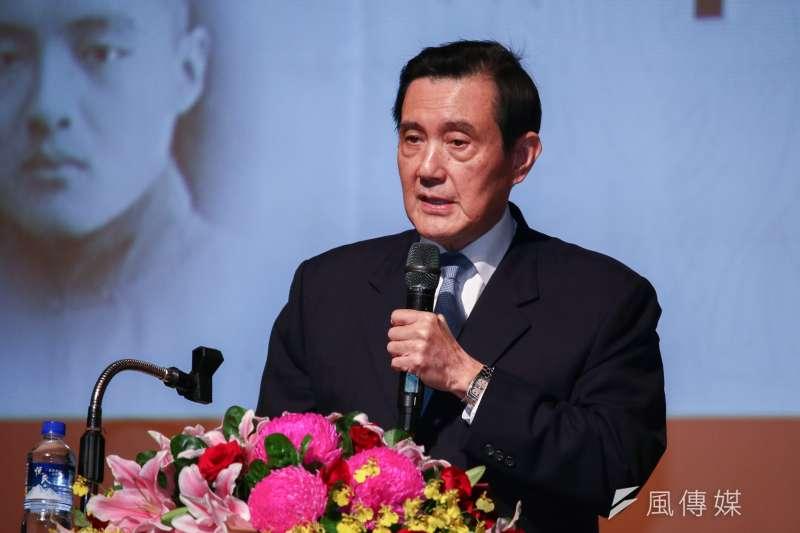 20190119-前總統馬英九出席「孔德成先生百年紀念會」。(蔡親傑攝)