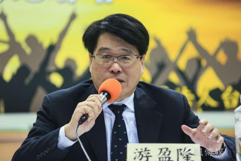 台灣民意基金會董事長游盈隆21日表示,朱立倫若和蔡英文在2020大選一對一對決,恐將上演王子復仇記。(資料照,簡必丞攝)