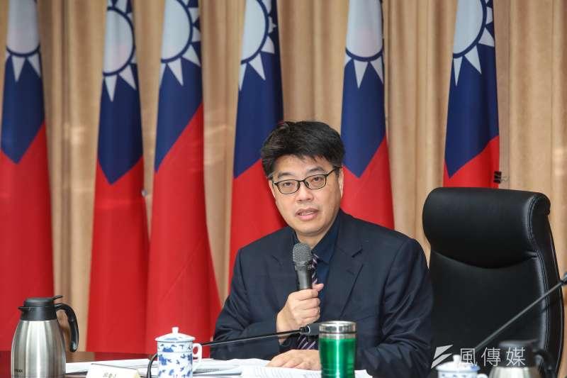 陸委會副主委邱垂正回應中國異議人士入境台灣問題。(資料照片,顏麟宇攝)