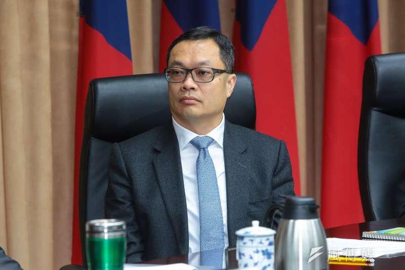 陸委會副主委陳明祺回應兩岸配偶同婚問題。(資料照片,顏麟宇攝)