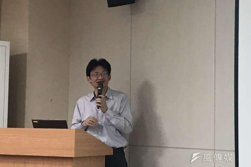 20190123_中研院社會學研究所副研究員林宗弘。(廖羿雯攝)