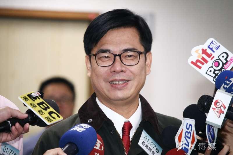行政院副院長陳其邁說,在前瞻計畫,中央約補助高雄1400多億元,金額高居所有縣市之冠,這些補助跟計畫都不變。(資料照,蔡親傑攝)