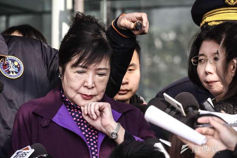 20190123-鄭惠中赴文化部向部長鄭麗君道歉。(陳品佑攝)