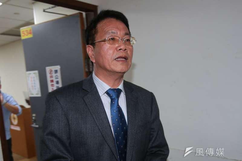 20190124-北農24日舉行臨時董事會,會中通過常務董事翁震炘為新任總經理。(顏麟宇攝)