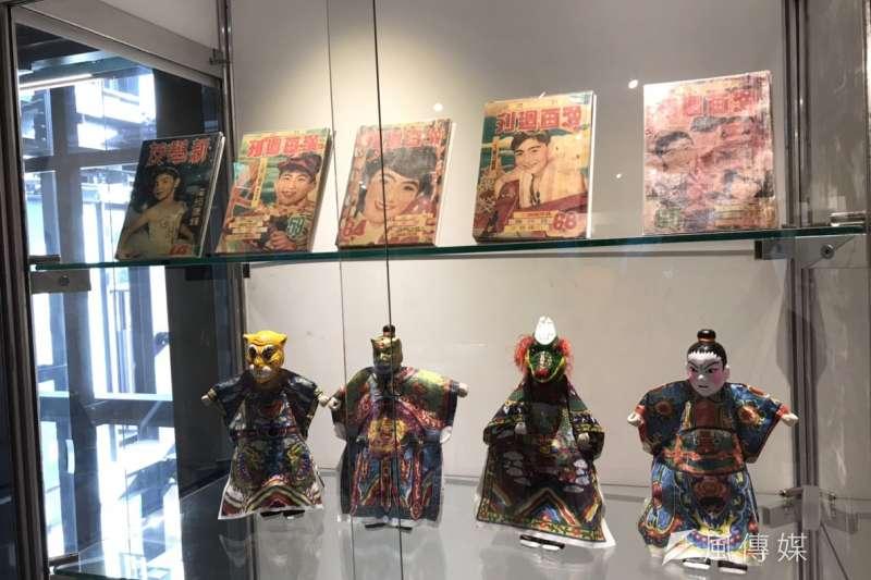 20190124-台灣漫畫基地24日正式開幕,目前舉辦台漫六十展覽,圖為漫畫基地2、3樓展出各類作品。(吳尚軒攝)