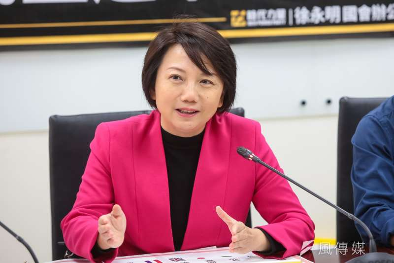 20190125-社民黨召集人范雲25日出席「推倒保證金高牆,民主選舉不是有錢人專利」記者會。(顏麟宇攝)