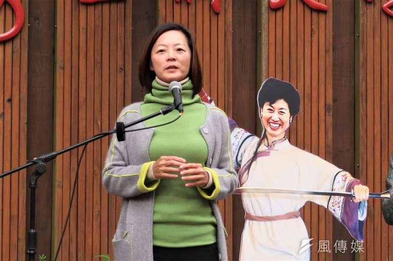 20190127-世新社發所為社會學家成露茜舉辦追思會。圖為台北市社會局長陳雪慧。(朱冠諭攝)