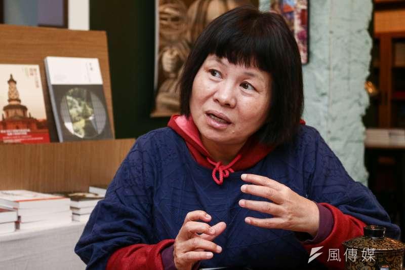 屏東縣議員蔣月惠怒批高雄市長韓國瑜的兩岸論述,並表示支持總統蔡英文。(資料照,蔡親傑攝)