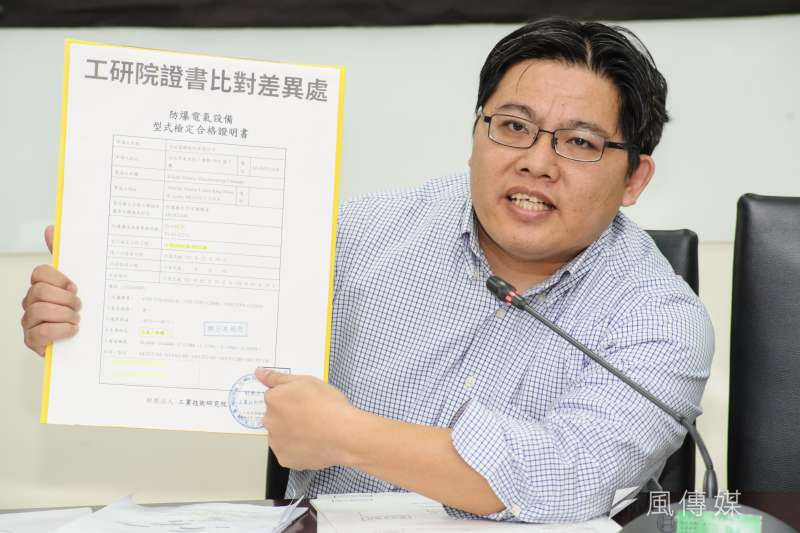 律師邱顯智高票當選時力決策委員,可望當選黨主席。(資料照片,甘岱民攝)