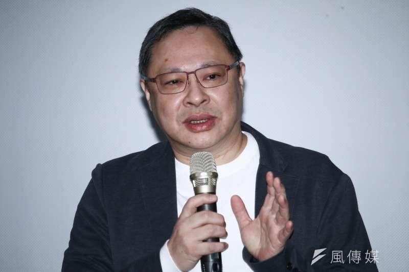 香港占中三子戴耀廷去年出席「雨傘運動與東亞民主展望論壇」。(蔡親傑攝)