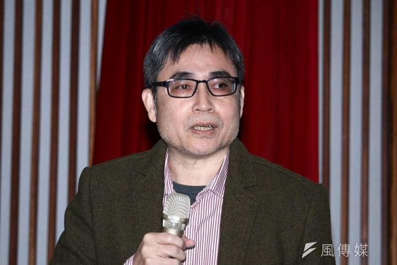 20190129-中研院社會所副教授吳介民出席「雨傘運動與東亞民主展望論壇」。(蔡親傑攝)