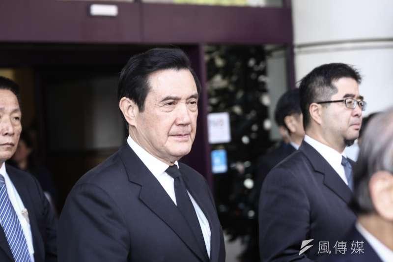 20190130-江丙坤追思會,前總統馬英九(陳品佑攝)