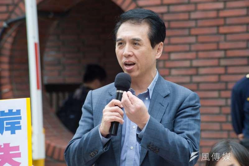 國民黨立委陳學聖18日宣布,退出2020年中壢立委選舉。(資料照,甘岱民攝)