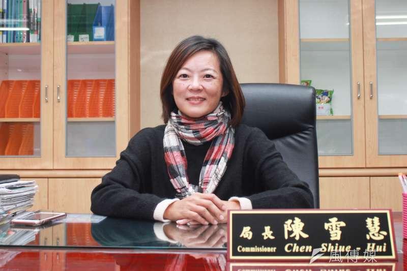 前新竹市社會處長陳雪慧接任台北市社會局局長,上任至今已有月餘。對於她先前的經歷,外界也不免好奇她的政治立場。(方炳超攝)