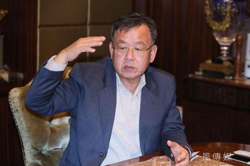 20190201-澎湖縣長賴峰偉專訪。(柯承惠攝)