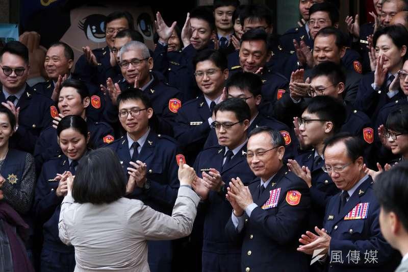 針對中央台南市長黃偉哲指出,每位員警的人事訓練退輔費大概都要一百萬,地方財政無法負荷,盼請中央妥善處理。(資料照,蘇仲泓攝)