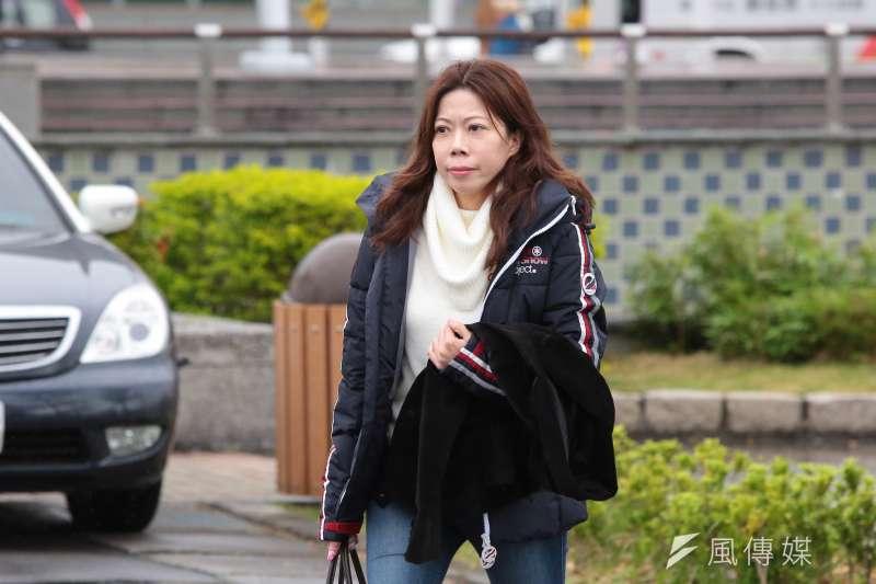 機師工會理事長李信燕領導華航機師罷工,但她身為長榮機師的身分,也引發外界質疑。(資料照,顏麟宇攝)