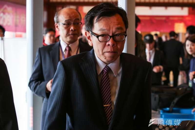 總統府前秘書長姚人多於臉書分享高嘉瑜翻白眼的照片,並表示「翻白眼終究敵不過老天有眼,其餘的就不多說了。」(資料照,顏麟宇攝)