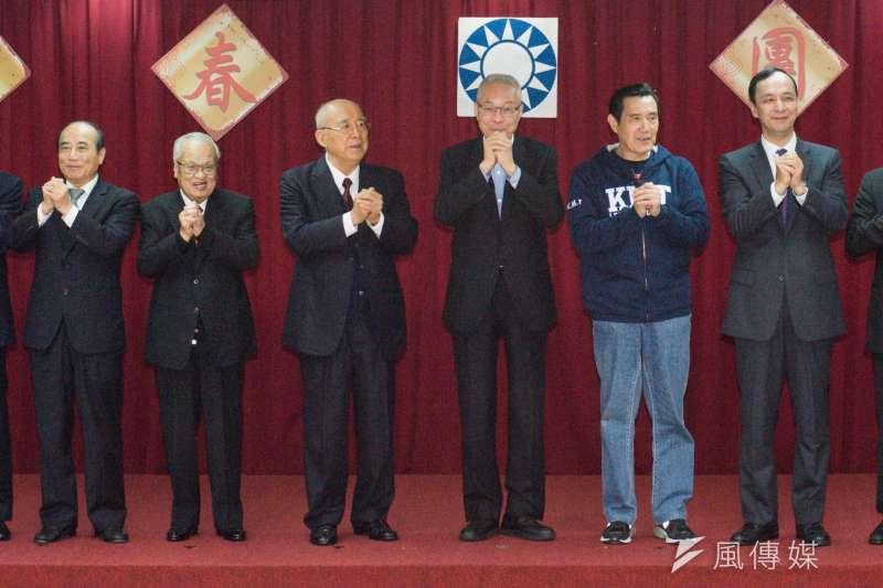 20190211-國民黨新春團拜。(甘岱民攝)
