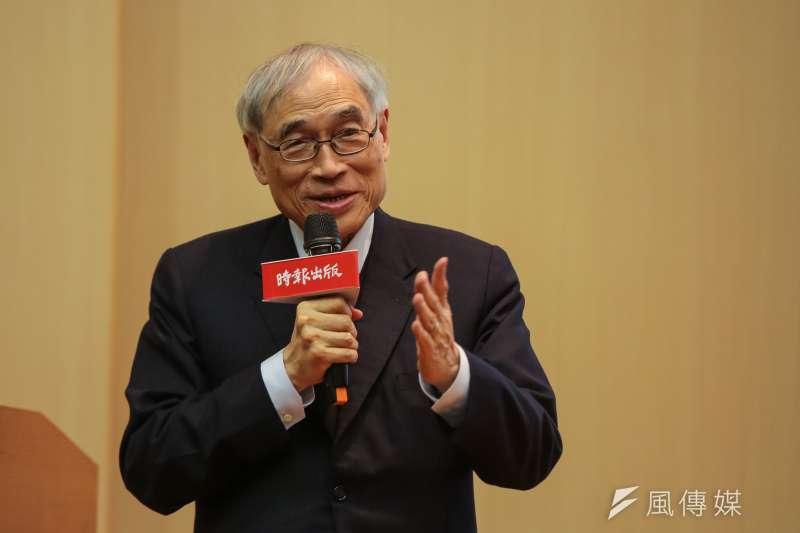 前香港中文大學校長劉遵義指出,中美二國競爭是長期的,貿易戰只是短期的現象。(顏麟宇攝)