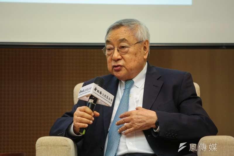 理律律師事務所創辦人徐小波12日表示,在中美貿易戰衝突當下,台灣政府決策者與企業界應該積極思考「台灣優勢在哪裡?」(顏麟宇攝)