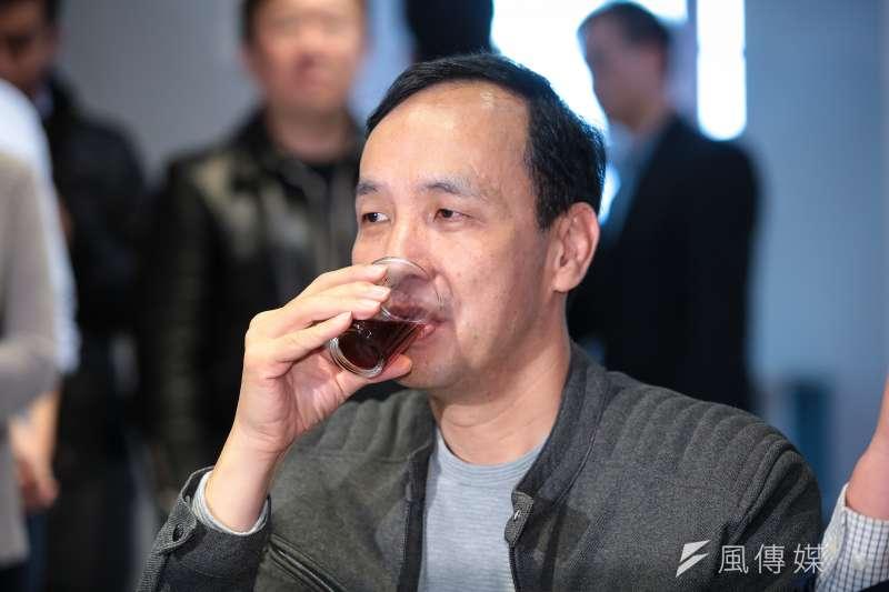 20190212-前新北市長朱立倫12日參訪「TeSA亞太品牌商務加速器」新創團隊。(顏麟宇攝)
