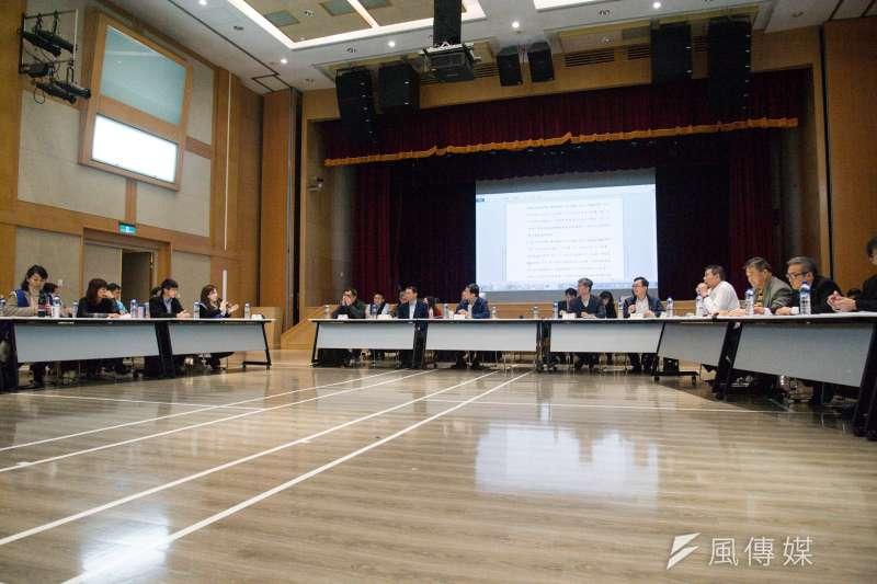 20190213-華航第三次勞資座談會議。(甘岱民攝)