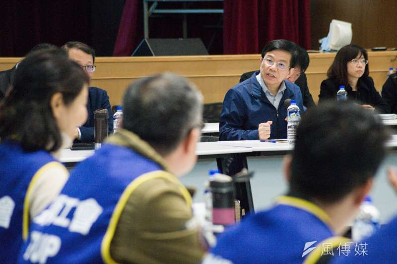 20190213-華航第三次勞資座談會議,交通部次長王國材。(甘岱民攝)