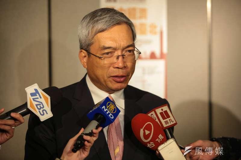 財信傳媒董事長謝金河說,「亞洲四小龍經濟,今年只是比誰比較不差而已!」(資料照,顏麟宇攝)