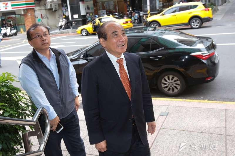 20190214-前立法院長王金平14日出席立法院實務研討會。(顏麟宇攝)