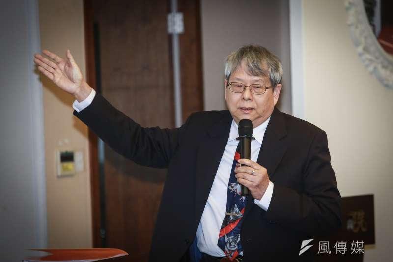 監委陳師孟(見圖)在《尖尾週記》透露,前交通部長郭瑤琪案露出了一線曙光。(資料照,簡必丞攝)