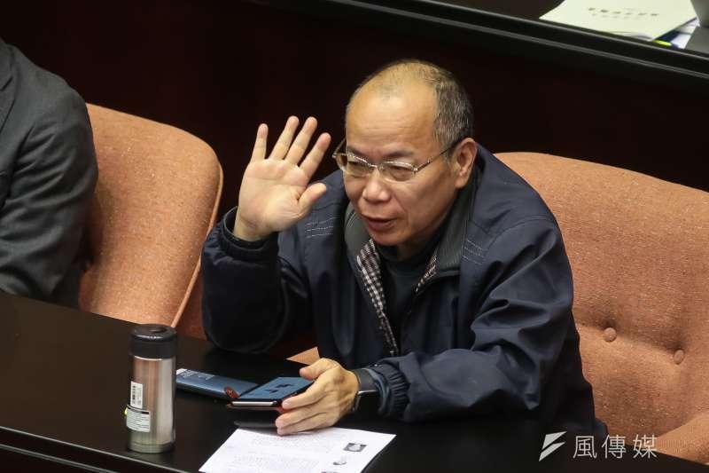 20190215-政務委員張景森15日出席立院總質詢。(顏麟宇攝)