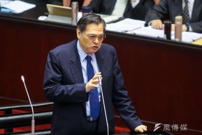 陸委會公布民調,圖為主委陳明通。(資料照片,顏麟宇攝)