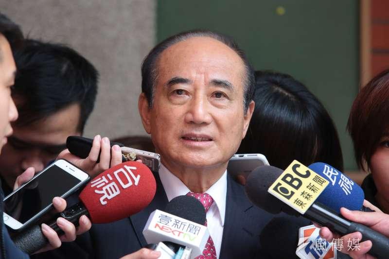 對於高雄市長韓國瑜人氣高,是否影響王金平的大選之路?前立法院長王金平(見圖)今(17)日表示,他與韓國瑜「心意相通」、「他願意配合我」。(資料照,顏麟宇攝)