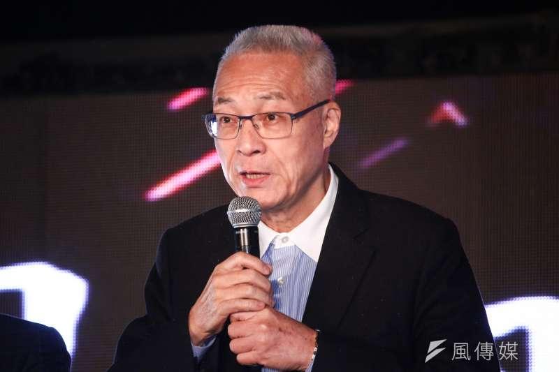 中國國民黨主席吳敦義今(22)日受訪時表示,國民黨總統提名人初選一定會有黨員投票,不可能只有民意調查。(資料照,蔡親傑攝)