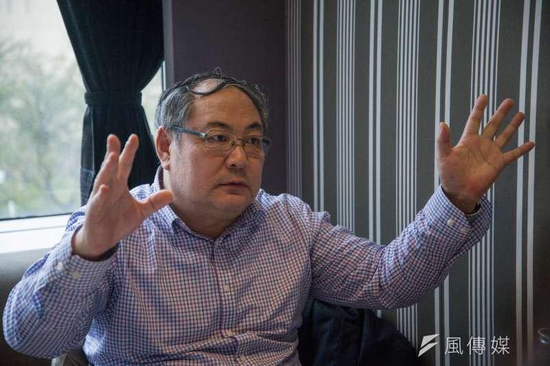 20190216-中國作家岳南專訪。(甘岱民攝)