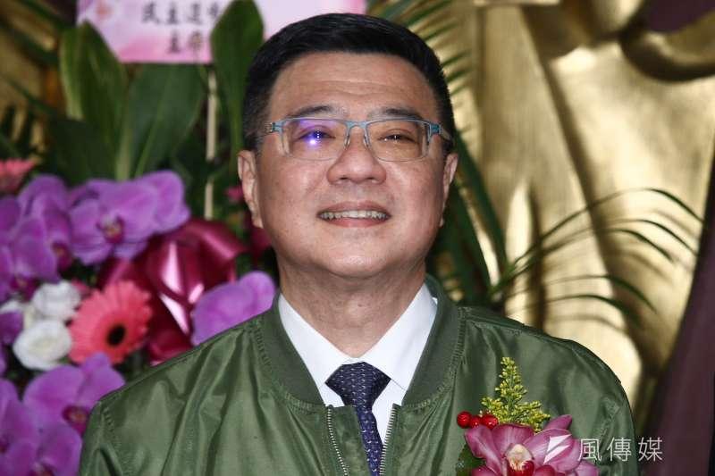 20190219-民進黨主席卓榮泰出席新北市議會民進黨團總召交接。(蔡親傑攝)