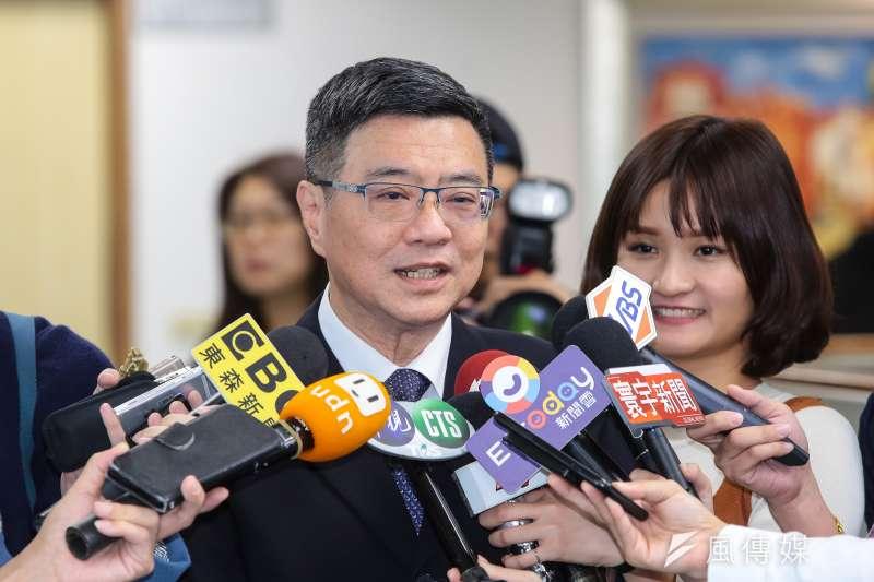 民進黨主席卓榮泰到彰化縣選,並且質疑現任市長王惠美對離岸風電的態度。(資料照片,顏麟宇攝)