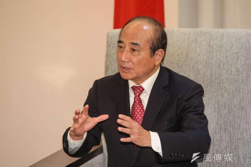 前立法院長王金平說,若當選總統,他要做到讓朝野和解共生、兩岸和平共榮。(顏麟宇攝)