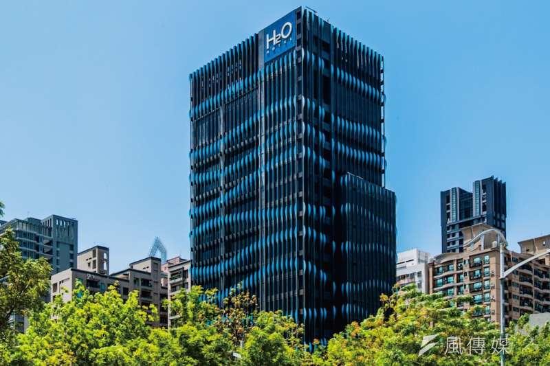 H2O水京棧國際酒店的客房單價較高,住房率卻是第一。(圖/徐炳文攝)