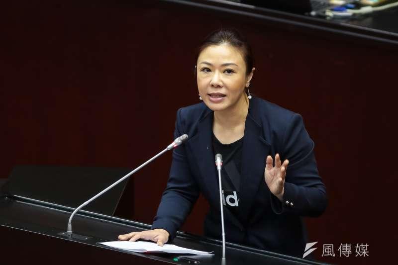 20190222-國民黨立委李彥秀22日於國是論壇發言。(顏麟宇攝)