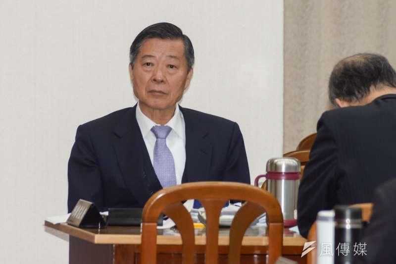 20190225-立法院財政委員會,審計部審計長林慶隆。(甘岱民攝)