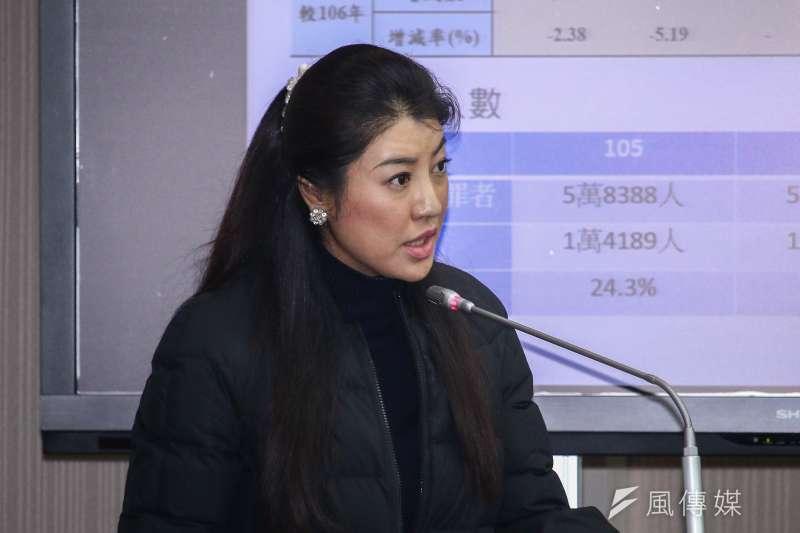 國民黨立委許淑華建議黨中央主動將韓國瑜納入初選民調。(資料照片,蔡親傑攝)
