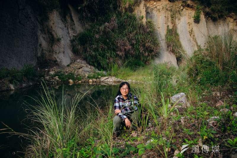 20190219-苗栗石虎專題,台灣石虎保育協會理事長、「石虎媽媽」陳美汀。(甘岱民攝)