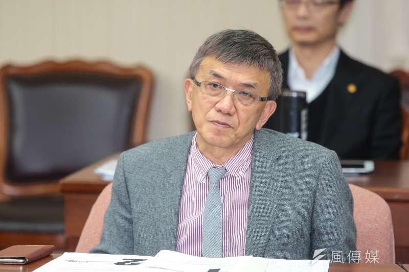 20190227-飛安會主委楊宏智27日出席立院交通委員會備詢。(顏麟宇攝)